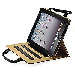 ProElite Smart Professional Bag Cover case for Apple iPad Air 2 / iPad 6 (Black) (Sleep/Wake)