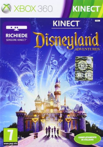 Microsoft Disneyland Adventures f/Kinect, Xbox 360 - video games (Xbox 360, Xbox 360, Family, RP (Rating Pending))