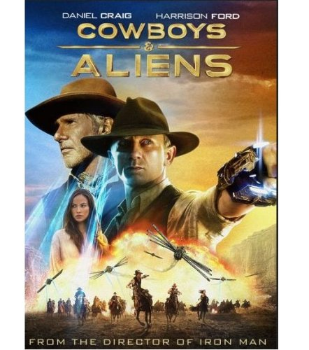 Cover art for  Cowboys & Aliens - Extended Edition (Blu-ray + DVD + Digital Copy + UltraViolet)