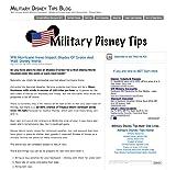 Military Disney Tips