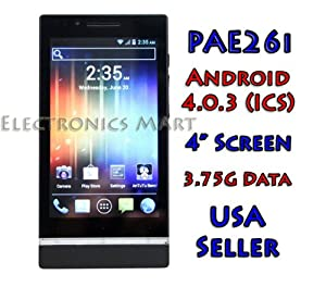 Android 4.0.3 ICS Mobile Phone GSM 3.75G Data Free Tether WiFi