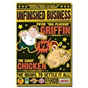 Family Guy Peter Vs Chicken 24X36 Wall Poster 24401