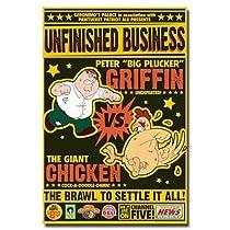 Family Guy Peter v. Chicken Poster Print, 24x36