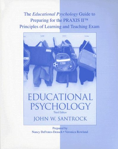 """The Educational Psychology Guide to Preparing for PRAXISâ""""¢ for use with Educational Psychology"""