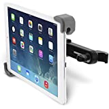 "[Lifetime Warranty] Okra® Universal 360° Degree Rotating Tablet Car Headrest Grip Mount for iPad, Galaxy, & all Tablets up to 11"" (New 2015 Version) [Retail Packaging]"