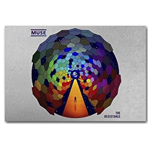 Muse Poster - The Resistance - Promo Flyer 11 x17