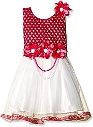 Atayant Girl Evening Dress (ATAYK_006_3:4YR_Dark Pink_M)