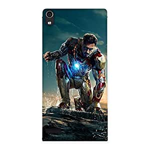 Ready to Sky Back Case Cover for Ascend P6