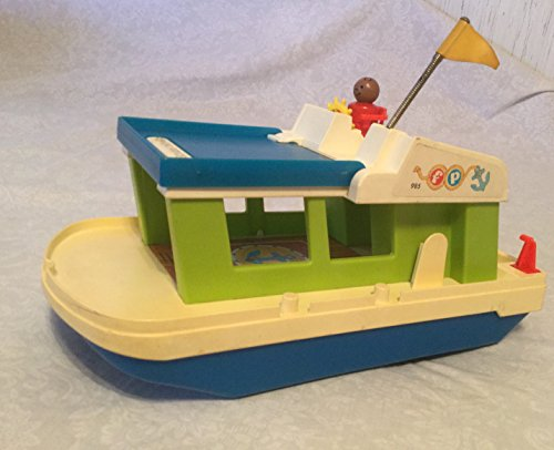 Vintage Fisher-price House Boat, One Little People