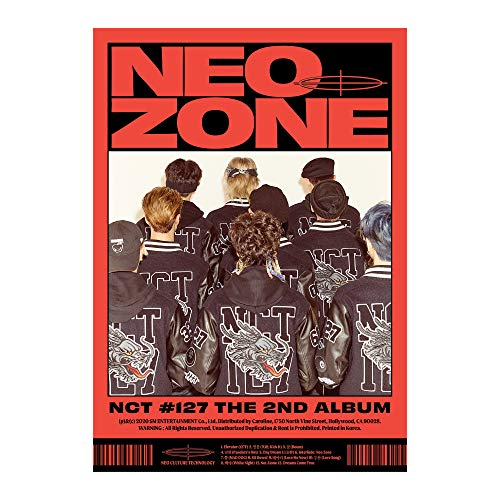 CD : NCT 127 - 2nd Album Nct #127 Neo Zone [c Ver.]