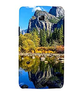 printtech Nature View Mountains Back Case Cover for Samsung Galaxy J7 / Samsung Galaxy J7 J700F