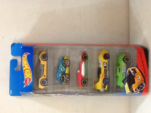 Hot Wheels Ultimate Racing 5-pack