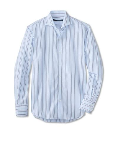 Zachary Prell Men's Russ Striped Long Sleeve Shirt