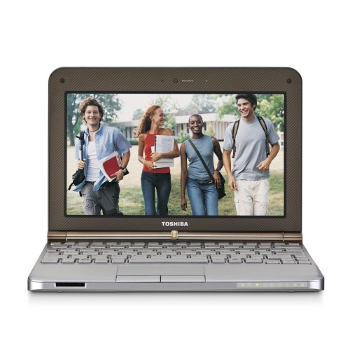 Toshiba Mini NB205-N310/BN 10.1-Inch Sable Brown Netbook - 9 Hour Battery Life