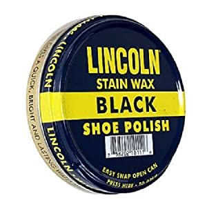 Lincoln Black Shoe Polish