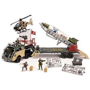 Amazon Com Military True Heroes Jumbo Rocket Transport