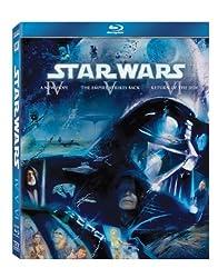 Star Wars: The Original Trilogy (Episodes IV-VI) [Blu-ray] [1977]