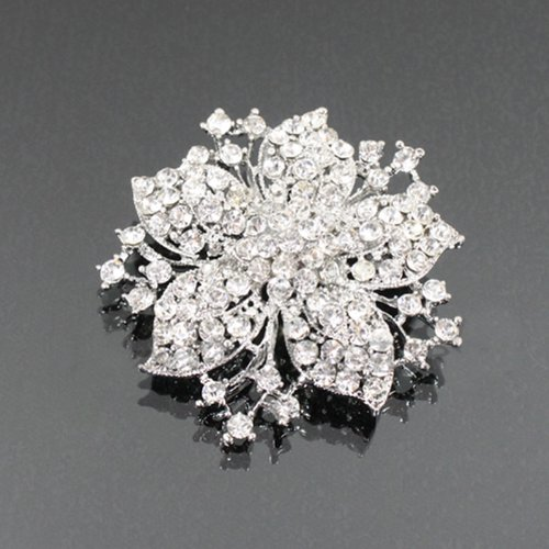 Rhinestone Flower Fashion Brooch Bh6170-bc171