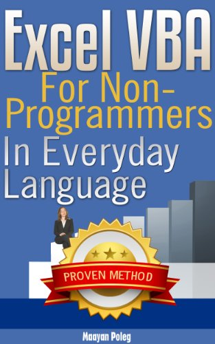 Excel VBA: for Non-Programmers (Programming in Everyday Language) (Vba Programming 2010 compare prices)