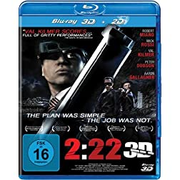 2:22 in 3D (Blu-ray 3D + Blu-ray) [Region Free]
