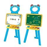 Beby 3�en 1�Caballete de doble cara Dibujo y texto de juguetes para infantil Aprendizaje con Magn�tico Letras de colores, n�meros (el color puede variar)