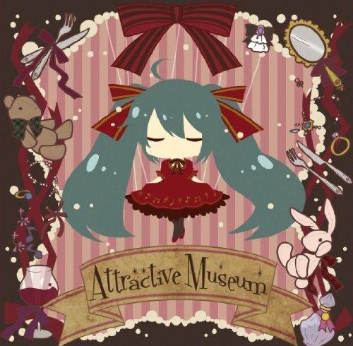 Attractive Museum DVD+楽譜集付き初回生産完全限定盤(ジャケットイラスト:Yおじ)