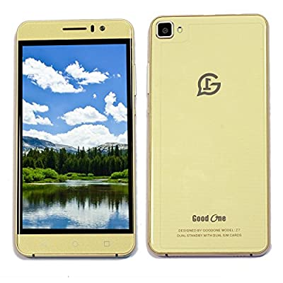 Goodone Z7 OTG 3G Mobile 5 Inch IPS QHD Display Smartphone (Gold)