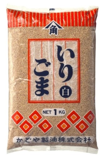 Kadoya Sesame Roasted sesame seeds (white) 1 kg