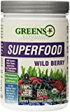 Organic Wild Berry Superfood Greens+ (Orange Peel Enterprises) 8.46 oz Powder.
