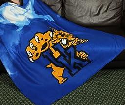 University of Kentucky Wildcats NCAA Fleece Throw Blanket by Northwest