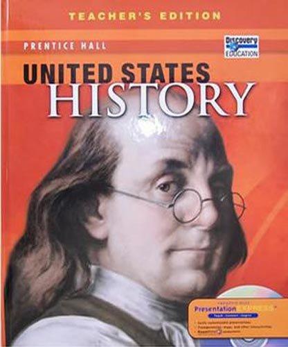 United States History, Teacher's Edition