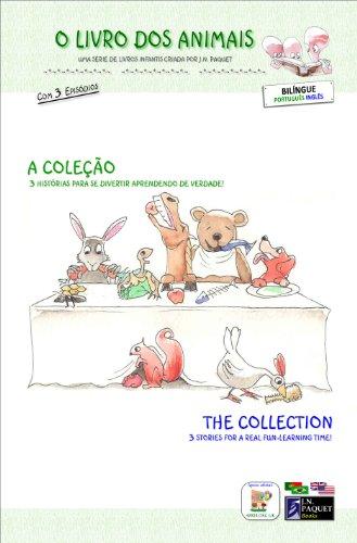 J.N. PAQUET - O Livro dos Animais - A Coleção (Bilíngue português - inglês)