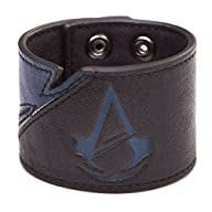 Bioworld – Assassin's Creed Unity – Bracelet Bleu / noir – Logo Unity – 8718526041415