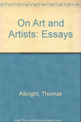 On Art & Artists, Albright, Thomas