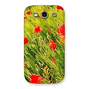 Beauty Flowers Farm Back Case Cover for Galaxy S3