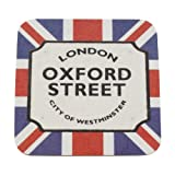 London Street Sign Souvenir Coaster - Oxford Street
