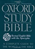 The Oxford Study Bible with Apocrypha (Revised English Version)