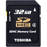 SDHCカード32GB TOSHIBA 東芝 超高速日本製 並行輸入 海外パッケージ品