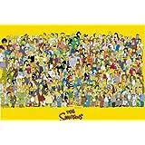 1art1 773 The Simpsons - Full Cast Poster (92 x 64 cm)