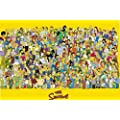 1art1 773 The Simpsons - Full Cast Poster (92 x 64 cm)