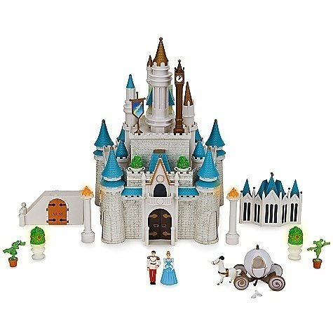 Disney Cinderella Castle Princess Dollhouse Playset *(Walt Disney World Exclusive!) back-340884