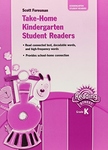 Take-Home Kindergarten Student Readers (Reading Street Grade K)