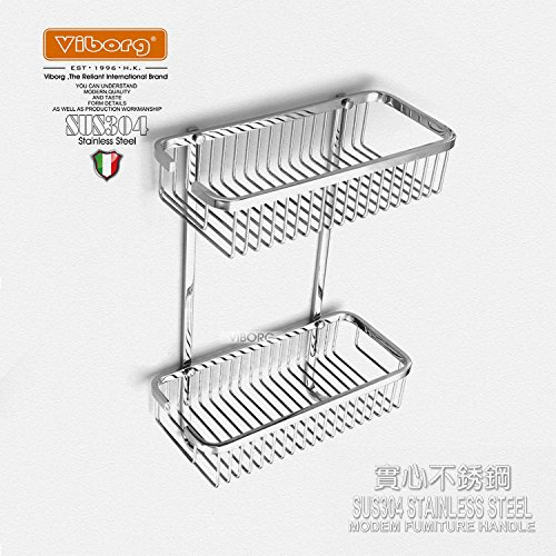viborg-deluxe-solid-thick-sus304-stainless-steel-wire-wall-mount-mounted-double-tier-shower-basket-s