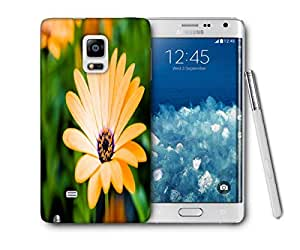 Snoogg Blossom Flower Printed Protective Phone Back Case Cover For Samsung Galaxy NOTE EDGE
