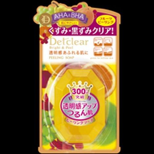 明色 DETクリア ブライト&ピール ピーリングソープ 100g Detclear MEISHOKU