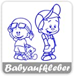 Babyaufkleber, Geschwisteraufkleber f...