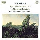 ブラームス:4手のためのピアノ作品集 5(ドイツ・レクイエム)