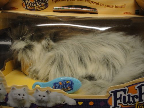 Cheap Furreal Friends Long Hair Cat Grey & White For Sale