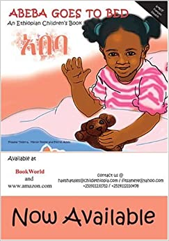 Abeba Goes to Bed, An Ethiopian Children's Book (French, German