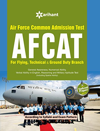AFCAT (Air Force Common Admission Test) by Arihant Experts